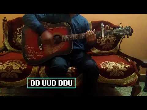 """""""Tera Yaar hoon main"""" Of Sonu ke Titu ki sweety/Easy Guitar Chords/Lesson/Guitar cover/Arijit Singh"""