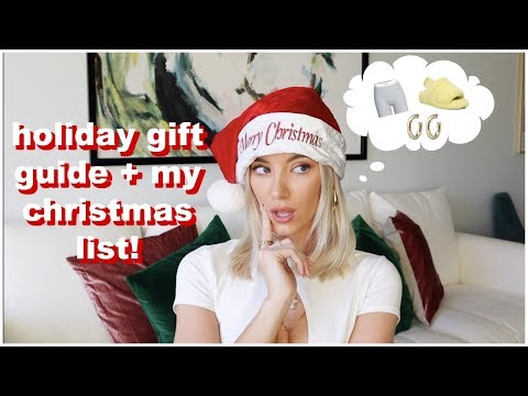 Holiday Gift Guide + My Christmas List! | Keaton Milburn