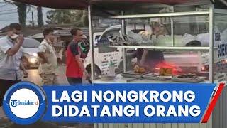 Sekelompok Pria Datangi Sejumlah Orang Yang Nongkrong Di Sukabumi, Ini Yang Terjadi