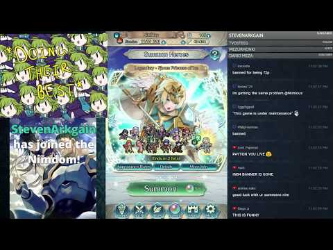 【Fire Emblem Heroes】 Final Legendary Heroes Banner Summoning! Come Chill and Chat! :D
