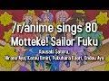 /r/Anime Sings - Motteke! Sailor Fuku (Lucky Star OP)