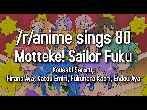 rAnime Sings  Motteke! Sailor Fuku Lucky Star OP