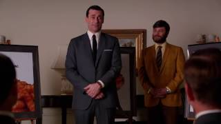 Video Mad Men: Don Draper pitches 'Pass the Heinz' idea to Heinz download MP3, 3GP, MP4, WEBM, AVI, FLV Agustus 2017