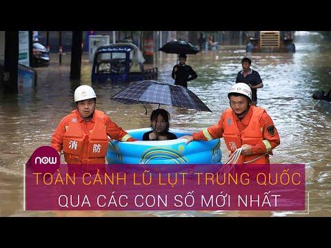 Mưa Lũ Trung Quốc Toan Cảnh Lũ Lụt Trung Quốc Qua Cac Con Số Mới Nhất Vtc Now Youtube
