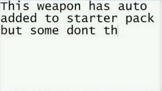Roblox - How To Add/Remove weapons from starter pack