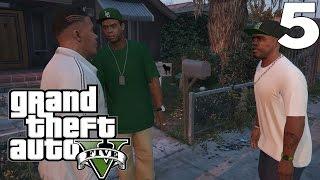 Grand Theft Auto 5: GTA V — #5 [ Дети простите, телефон крушитель ](Приятного Просмотра! ▽РАЗВЕРНИ▽ Новое прохождение — мультиплатформенной видеоигры в жанре Action и с откры..., 2015-04-24T00:22:29.000Z)