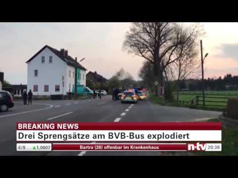 Bombenexplosion am BVB Mannschaftsbus , 3 Sprengsätze