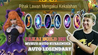 BEST BUILD GUINEVERE RRQ LEMON MOBILELEGENDS | AUTO LEGENDARY