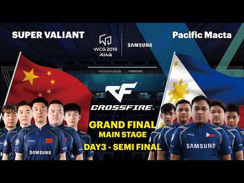 WCG 2019 GF   CrossFire Semi Final Match 1 Set 1   SV vs Pacific Macta