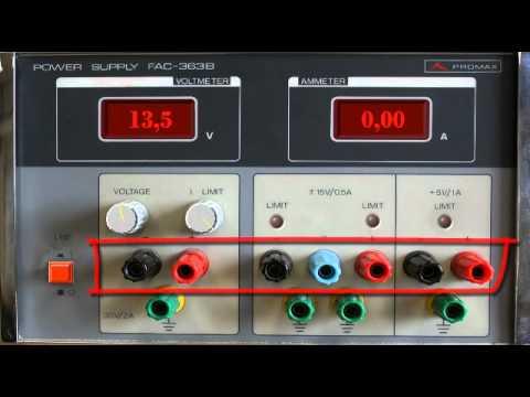 Fuente alimentacion promax fac 363b youtube - Generador de corriente ...