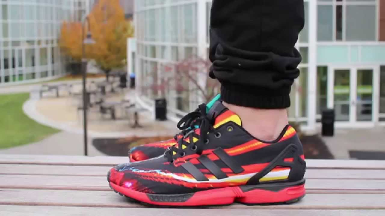 Adidas Zx Flux Red Rush