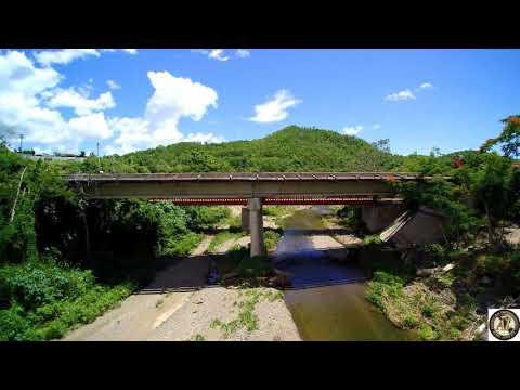 Rio de Coamo - Coamo River, Coamo, Puerto Rico (Yuneec Typhoon Q500 Drone)