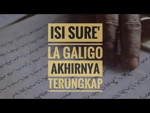 Akhirnya Terkuak Kedunia Isi Sure' La Galigo, Yang Selama Ini Di Sembunyikan