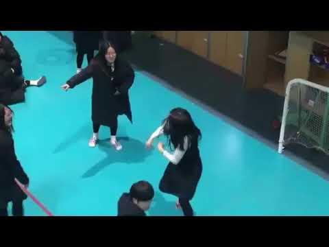 Korean Student Girl Dancing Mic Drop 😂💓