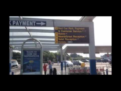 Hot To Get To Bus Stops (Terravision, National Express, Easybus...) At London Stansted Airport