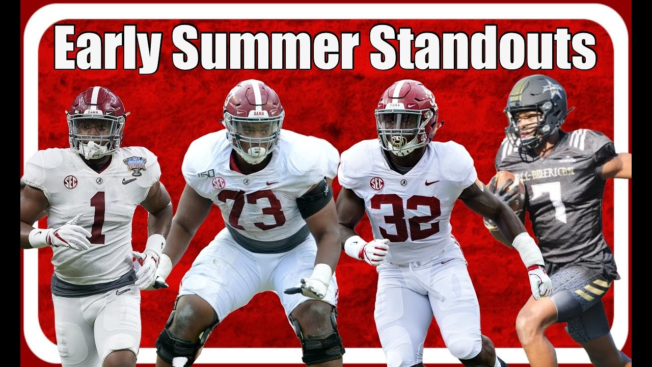 Who's standing out for Alabama football right now: Trey Sanders, Dylan Moses, Ben Davis, Evan Neal