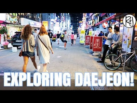 Exploring Daejeon With Paige | Vlog