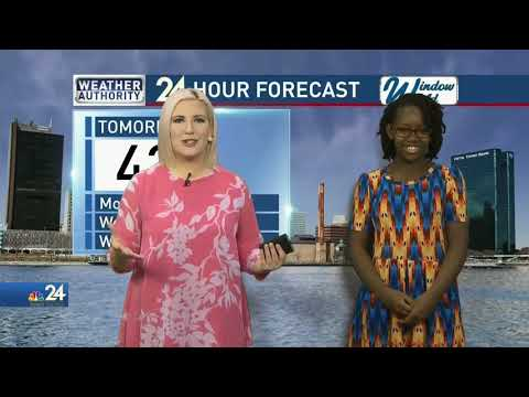 I WAS THE NBC 24 WEATHER KID FOR A DAY – Sage Loves 2 Eat