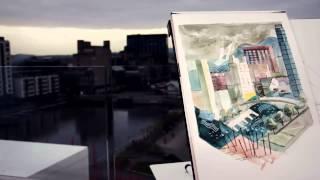 Gambar cover Dublin Timelapse Illustration   Steve McCarthy