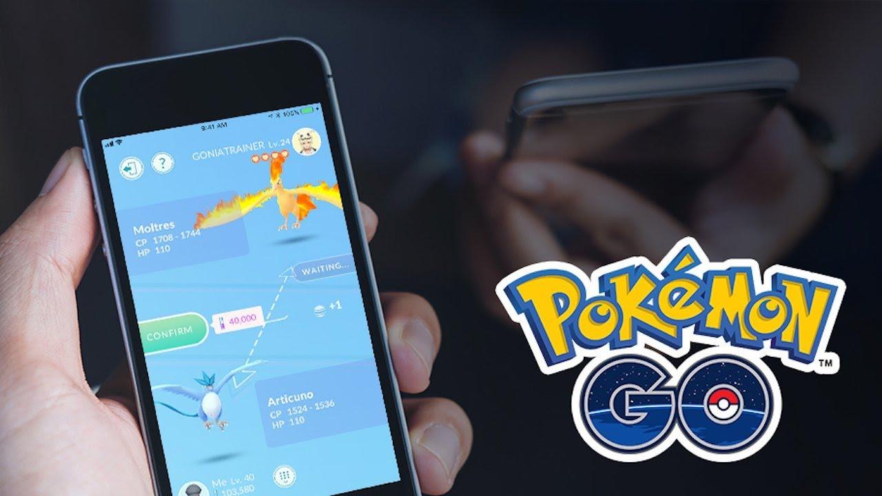 Pokemon Go - Trading Gameplay