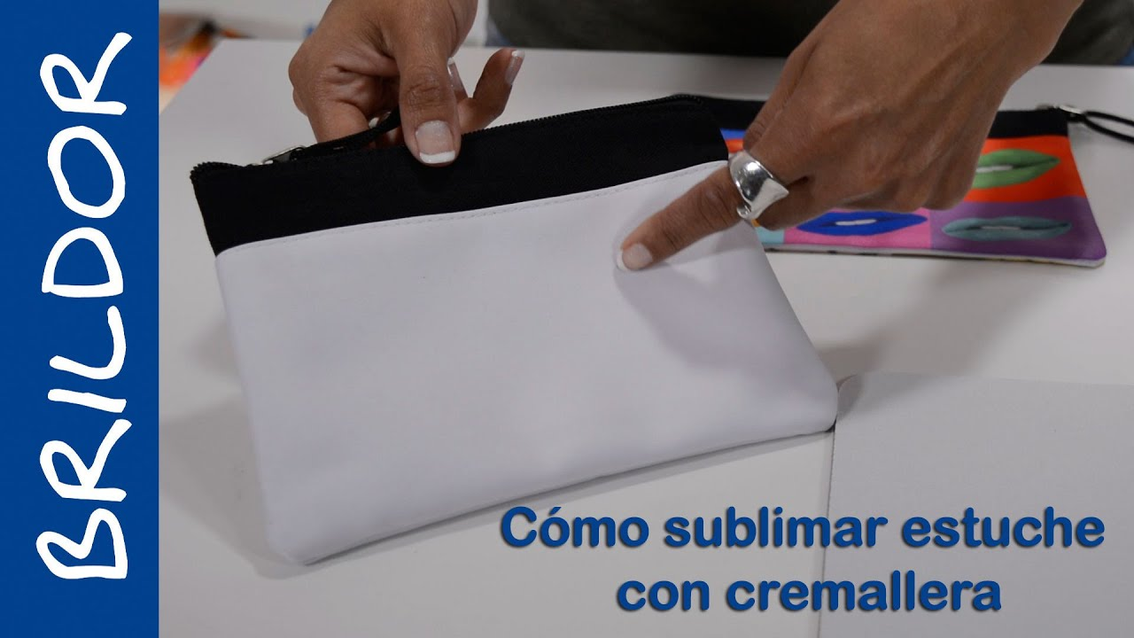 0f79ccac3 Cómo sublimar bolso con cremallera - YouTube