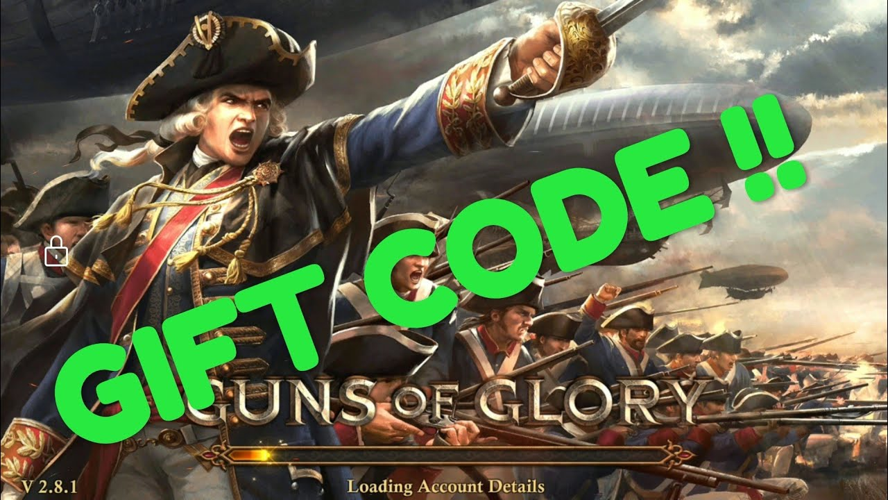 Gift Code April 2019 - Update 2 9 - Guns of Glory GOG