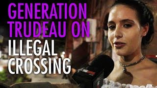 Virtue-signalling millennials welcome Trudeau's illegals