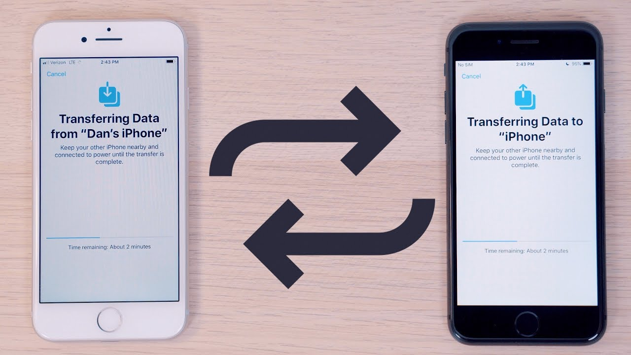 Here's How Apple's New iPhone to iPhone Data Migration Feature Works