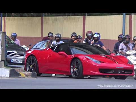 CHASING LOUD Ferrari In INDIA's Chaotic Traffic (Bangalore)