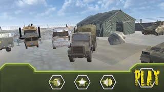 UK Army Cargo Truck Driving 2018 / Android Game / Game Rock