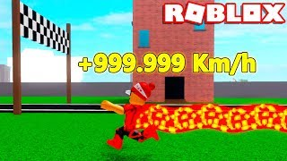 How to be VERY FAST in SPEED SIMULATOR 2 → Roblox 1 million X Speed Simulator 2 🎮