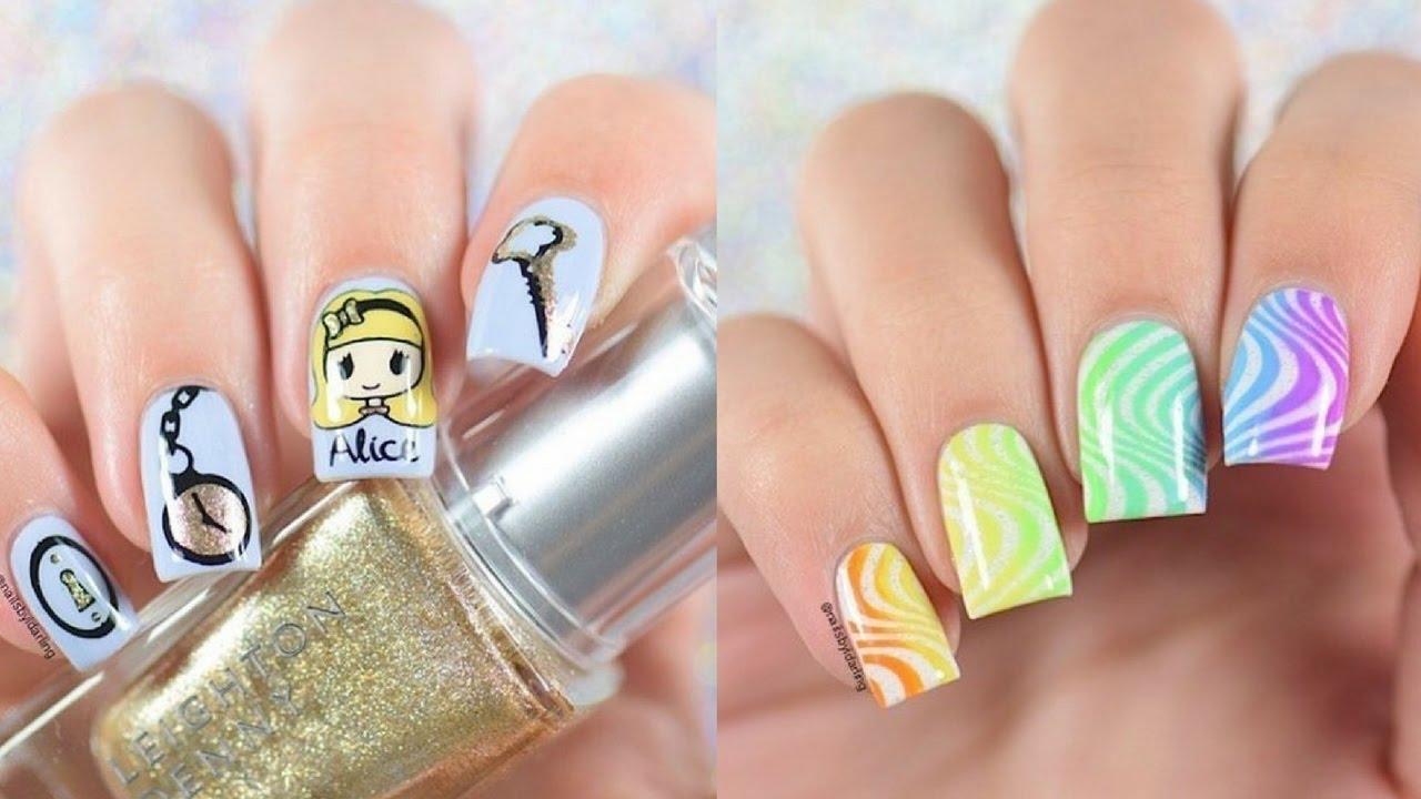 Crazy Nail Art | Top 10 Crazy Nails Art Design Compilation Nail Polish Youtube