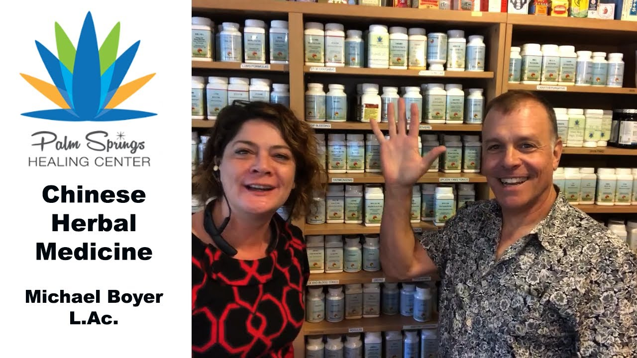 Chinese Herbal Medicine Palm Springs with Michael Boyer #Herbalmedicine