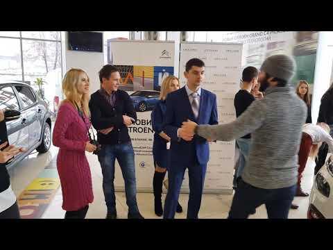 Мини момент как проходило вручение Ситроен Литвинюку - Познавательные и прикольные видеоролики
