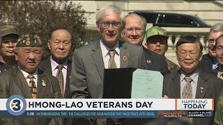 Gov. Evers signs bill creating Hmong-Lao Veterans Day