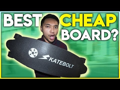 Faster And CHEAPER Than A Boosted Board 2018 (Skatebolt Review)