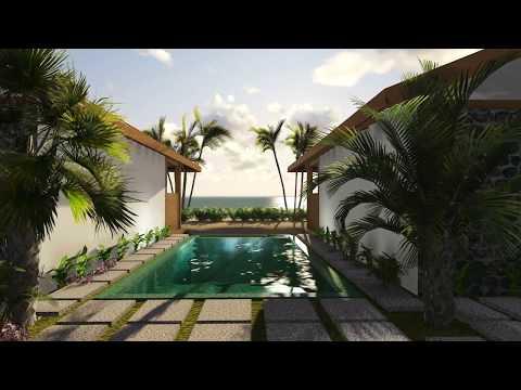 Calista Beach Front Villa - Rendering