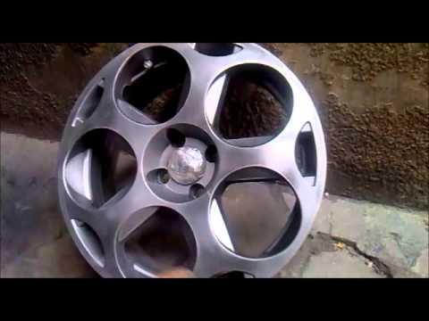Pintar Llantas Con 60 Pesos Youtube