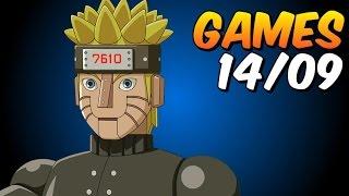 Naruto / Cooking Mama - GAMES semana 14/09