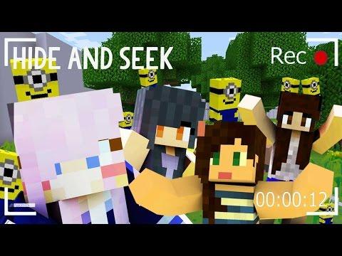 Minecraft Hide and Seek   Minions!