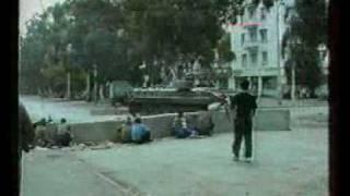 Война в Абхазии в 1992-1993год, нарезки из разных видео.avi