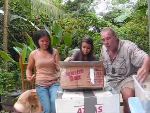A Balik Bayan Box From Grace In California So Special  A BlindOwl Outdoors Expat Philippines Foreign