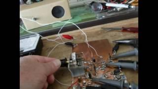 タイマIC(NE555)によるクエンチング発振回路を組み込んで 超再...