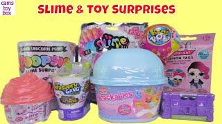 Slime Num Noms Surprises Toys DIY LOL Snow Cones Pikmi POPS Style Unicorn Glitter