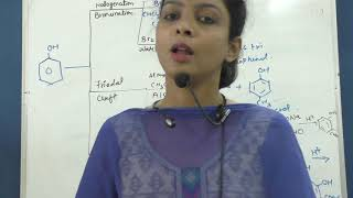 Electrophilic substitution reaction of phenol  part 2