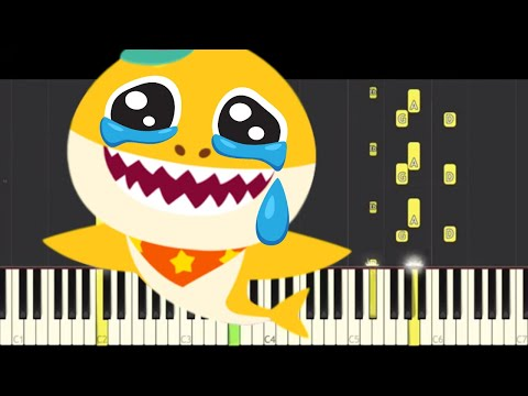 baby-shark-dance-in-a-minor-key-sounds-totally-different!---sad-emotional-piano-cover