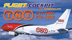 TNT Airways COCKPIT Boeing 737 Freighter
