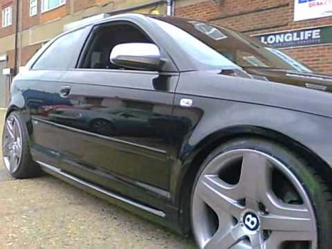 Audi A3 3 2 With Bentley Wheels N Stretched Tyres