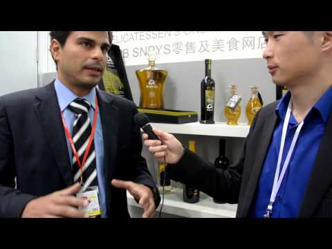 Interview of a spanish olive Oil producer in Shanghai