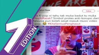 K-Pop Music Video Features Fahmi Reza's Najib-Clown Cartoon